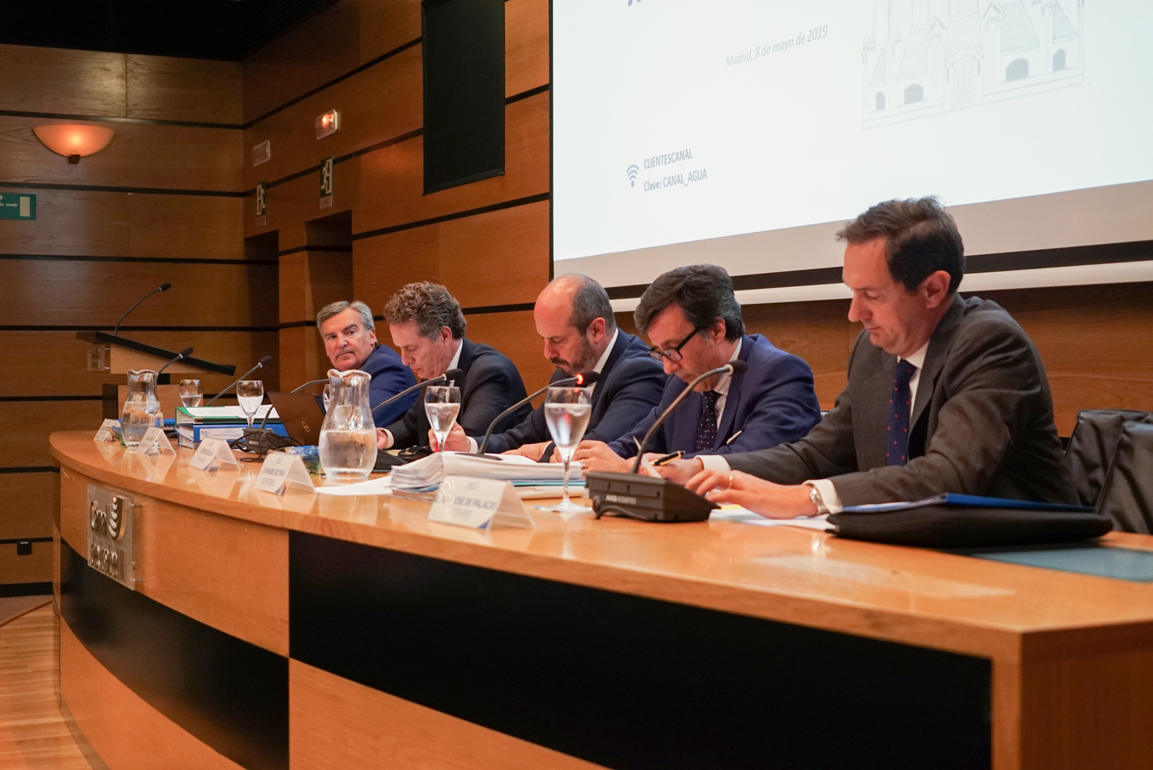 The Shareholders Meeting of Canal de Isabel II